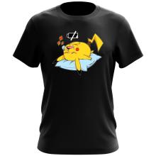 Funny  T-Shirt - Pikachu ( Parody) (Ref:859)