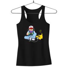 Débardeurs  parodique Pikachu et Sasha Ketchum : Batterie de secours :) (Parodie )