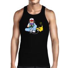 Débardeur  parodique Pikachu et Sasha Ketchum : Batterie de secours :) (Parodie )