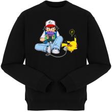 Pulls  parodique Pikachu et Sasha Ketchum : Batterie de secours :) (Parodie )