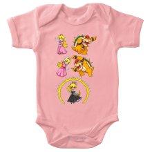 Bodys  parodique Princesse Peach;Bowser et Bowsette : Bowsette Fusion ! (Parodie )