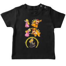 T-shirts  parodique Princesse Peach;Bowser et Bowsette : Bowsette Fusion ! (Parodie )