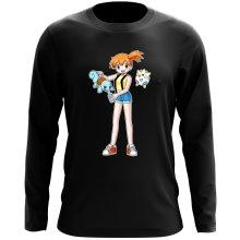 T-Shirt à manches longues  parodique Carapuce, Ondine et Togepi : Carafapuce... :) (Parodie )