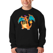 Pull Enfant  parodique Jeux Vidéo - Parodie de Dracaufeu de Pokémon : DracauThug...! (Parodie )