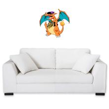 Sticker Mural  parodique Jeux Vidéo - Parodie de Dracaufeu de Pokémon : DracauThug...! (Parodie )