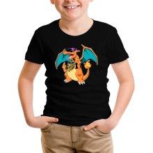 T-shirt Enfant  parodique Jeux Vidéo - Parodie de Dracaufeu de Pokémon : DracauThug...! (Parodie )