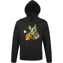 Sweats à capuche  parodique Yoshi : Kart Fighter - Player 3 (Parodie )