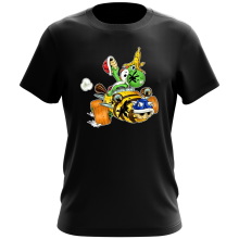 T-shirt  parodique Yoshi : Kart Fighter - Player 3 (Parodie )