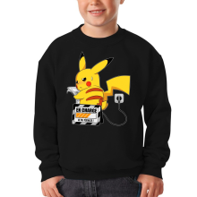 Sweat-shirts (French Days)  parodique Pikachu : En Charge... Ne pas déranger ! (Parodie )