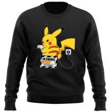 Pull  parodique Pikachu : En Charge... Ne pas déranger ! (Parodie )
