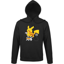 Sweats à capuche (French Days)  parodique Pikachu : En Charge... Ne pas déranger ! (Parodie )