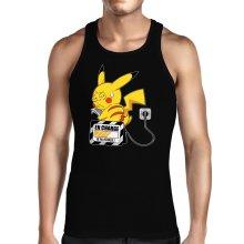 Débardeurs  parodique Pikachu : En charge... (Super Deformed) (Parodie )