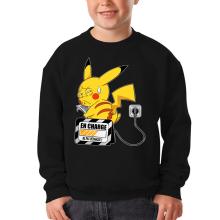 Sweat-shirts  parodique Pikachu : En charge... (Super Deformed) (Parodie )