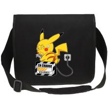 Sacs bandoulière Canvas  parodique Pikachu : En charge... (Super Deformed) (Parodie )