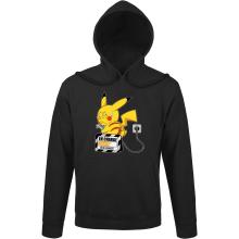 Sweats à capuche  parodique Pikachu : En charge... (Super Deformed) (Parodie )