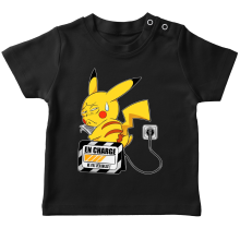 T-shirts  parodique Pikachu : En charge... (Super Deformed) (Parodie )