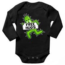 Body bébé manches longues  parodique Pampa - Free Hugs : Free Hugs :) (Parodie )
