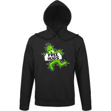 Sweat à capuche  parodique Pampa - Free Hugs : Free Hugs :) (Parodie )