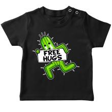 T-shirt bébé  parodique Pampa - Free Hugs : Free Hugs :) (Parodie )