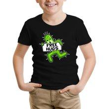 T-shirt Enfant  parodique Pampa - Free Hugs : Free Hugs :) (Parodie )