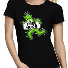 T-shirts Femmes  parodique Pampa - Free Hugs : Free Hugs :) (Parodie )