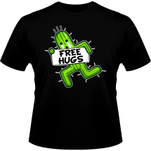 T-shirts  parodique Pampa - Free Hugs : Free Hugs :) (Parodie )