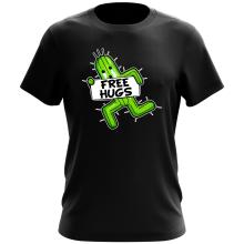 T-shirt  parodique Pampa - Free Hugs : Free Hugs :) (Parodie )