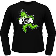 T-Shirts à manches longues  parodique Pampa - Free Hugs : Free Hugs :) (Parodie )