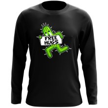 Funny Long Sleeve Top - Pampa - Free Hugs ( Parody)