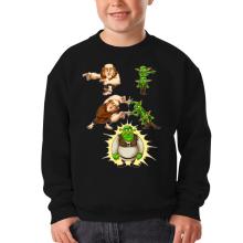 Sweat-shirts  parodique Shrek, les Gobelins et le Géant : Fusion Royale :) (Parodie )