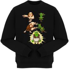 Pulls  parodique Shrek, les Gobelins et le Géant : Fusion Royale :) (Parodie )