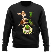 Funny  Sweater - Giant, Gobelins and Shrek ( Parody) (Ref:894)