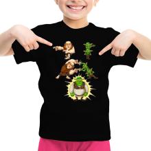 T-shirts  parodique Shrek, les Gobelins et le Géant : Fusion Royale :) (Parodie )