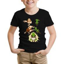Funny  Kids T-Shirt - Giant, Gobelins and Shrek ( Parody) (Ref:894)