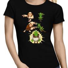T-shirts Femmes  parodique Shrek, les Gobelins et le Géant : Fusion Royale :) (Parodie )
