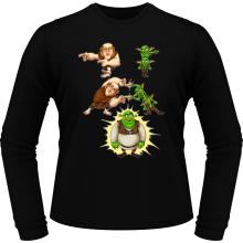 T-Shirts à manches longues  parodique Shrek, les Gobelins et le Géant : Fusion Royale :) (Parodie )