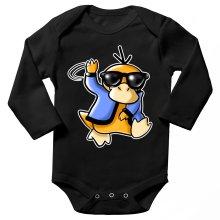 Body bébé manches longues  parodique Psykokwak réalisant le Gangnam Style : Gangduck Style by Psyko :) (Parodie )
