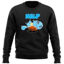 Pull  parodique Carapuce : Help !!! (Parodie )