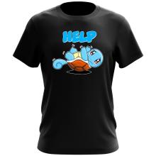 T-shirt  parodique Carapuce : Help !!! (Parodie )