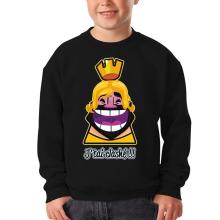 Sweat-shirts  parodique Le Roi de Clash Royale et Brice de Nice : J