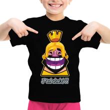 T-shirts  parodique Le Roi de Clash Royale et Brice de Nice : J