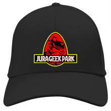 Casquette  parodique Yoshi et Jurassic Park : Jurageek Park ! (Parodie )