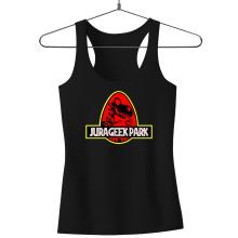 Débardeurs  parodique Yoshi et Jurassic Park : Jurageek Park ! (Parodie )