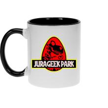 Mugs  parodique Yoshi et Jurassic Park : Jurageek Park ! (Parodie )