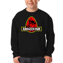 Sweat-shirts  parodique Yoshi et Jurassic Park : Jurageek Park ! (Parodie )