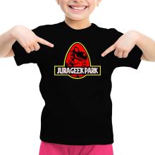 T-shirts  parodique Yoshi et Jurassic Park : Jurageek Park ! (Parodie )