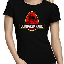 T-shirts Femmes  parodique Yoshi et Jurassic Park : Jurageek Park ! (Parodie )