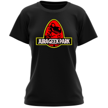 T-shirt Femme  parodique Yoshi et Jurassic Park : Jurageek Park ! (Parodie )