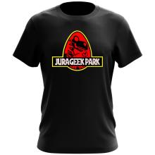 T-shirt  parodique Yoshi et Jurassic Park : Jurageek Park ! (Parodie )