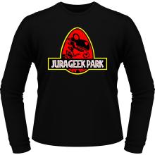 T-Shirts à manches longues  parodique Yoshi et Jurassic Park : Jurageek Park ! (Parodie )